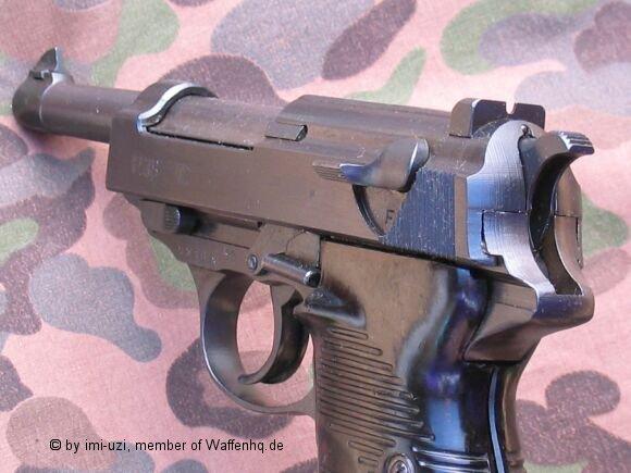 Рама пистолета walther р 38 выпускадо 1945