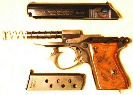 """Пистолет """"Walther PPK"""""""